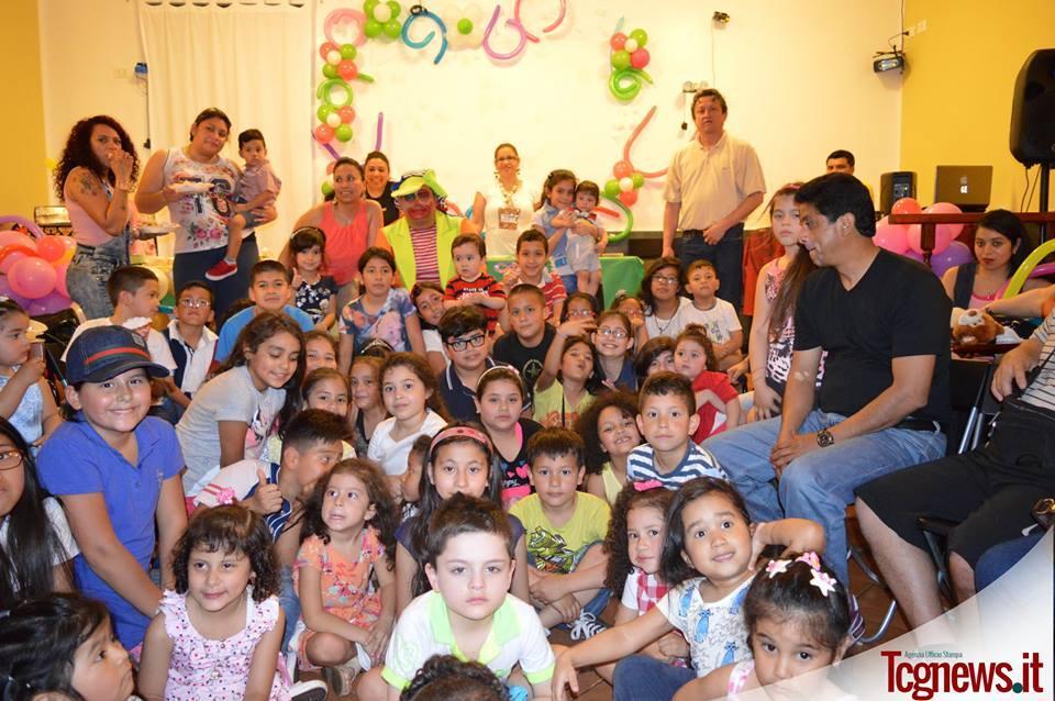 Genova: Asociaciones ecuatorianas  celebran el Día del Niño