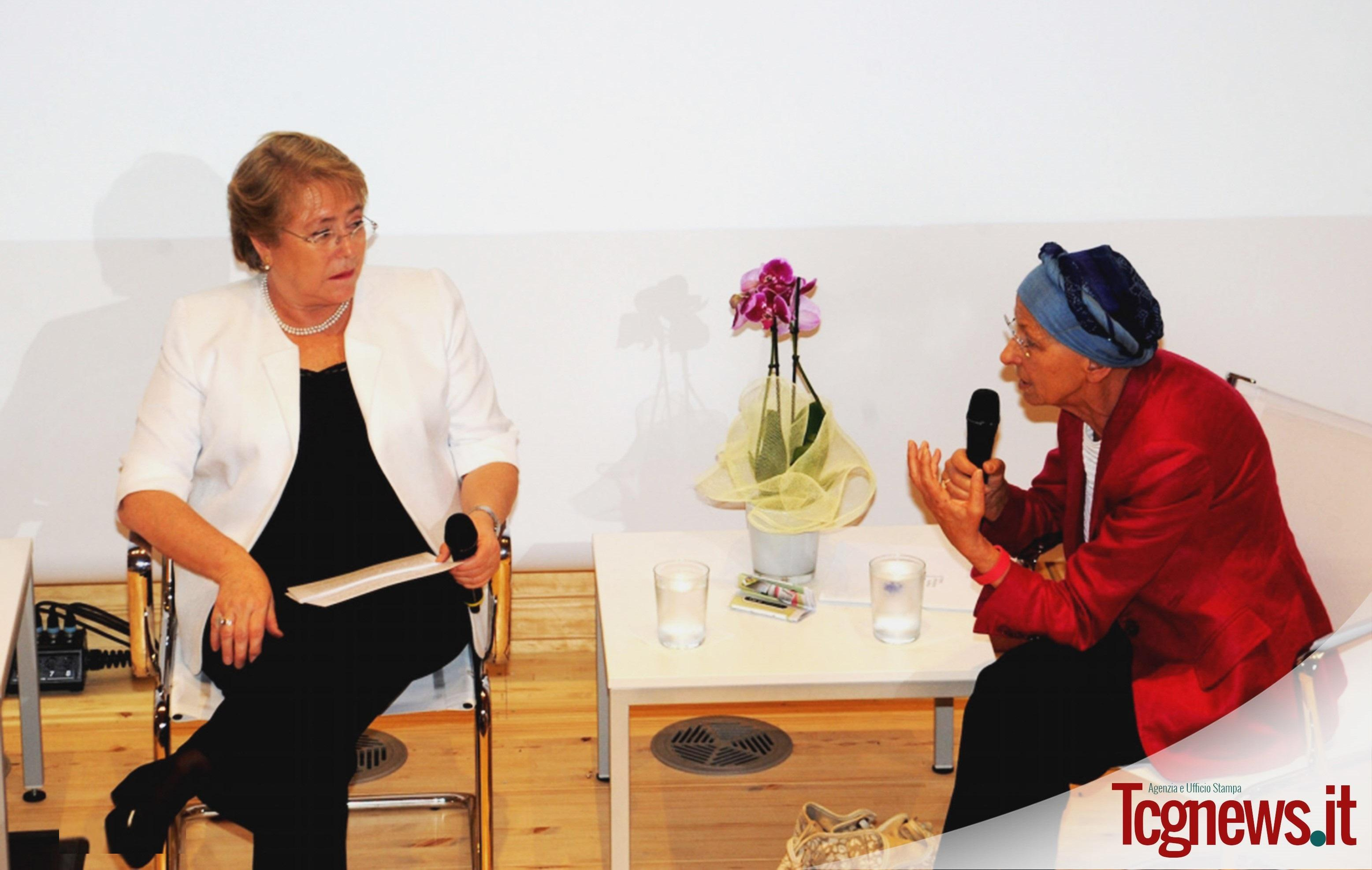 A Expo 2015 la Women for Expo Alliance con Michelle Bachelet e Emma Bonino