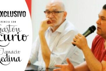 Conferenza con Gastón Acurio e Ignacio Medina