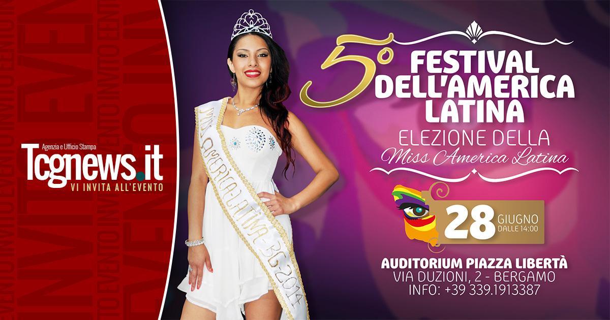 Tutto pronto per il 5°Festival  Dell'America Latina a Bergamo