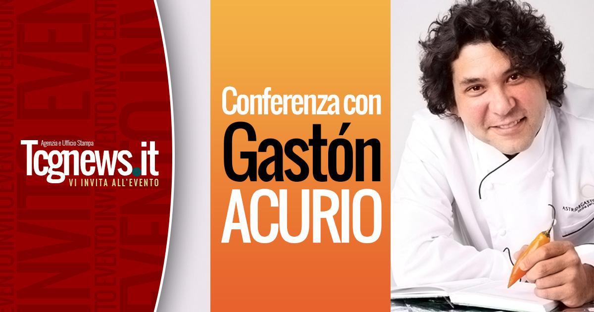 Conferenza con Gastón Acurio