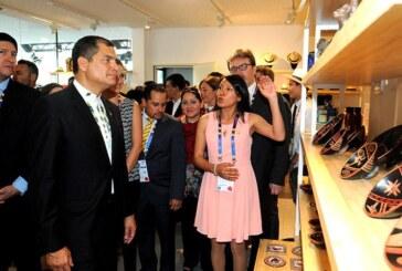 Il National Day dell'Ecuador è stato inaugurato dal Presidente Rafael Correa a Expo Milano 2015