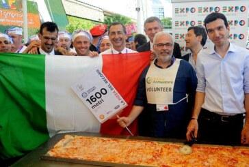 Expo Milano 2015: l'Italia si aggiudica il record per la pizza più lunga del mondo