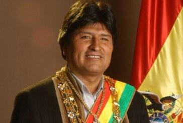 Il Presidente della Bolivia Evo Morales a Milano per EXPO 2015