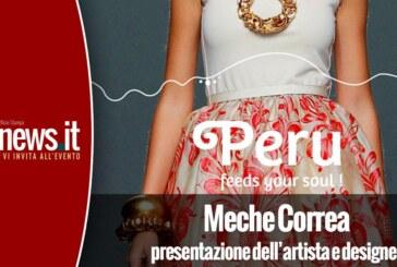 Presentazione dell'artista e designer Meche Correa