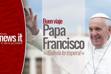 "ROMA: ""Buen viaje Papa Francisco, Bolivia te espera"""