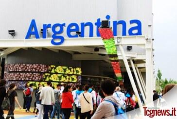Visita al Padiglione dell'Argentina a Expo Milano 2015