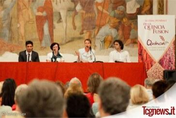 En Milán  se presentó el Festival della Quinoa Fusion 2015