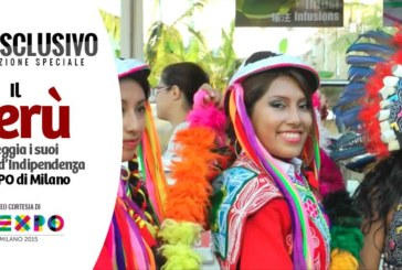 Il Perú festeggia i suoi 194 anni d'Indipendenza all'Expo 2015