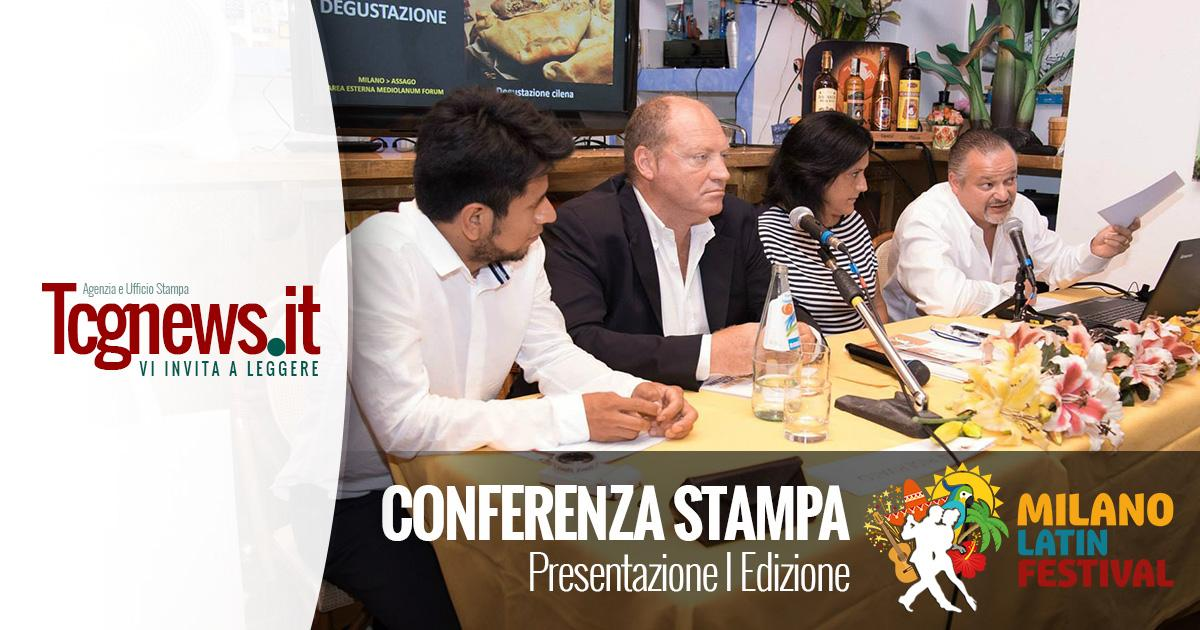 Conferenza Stampa di Presentazione I Edizione Milano Latin Festival