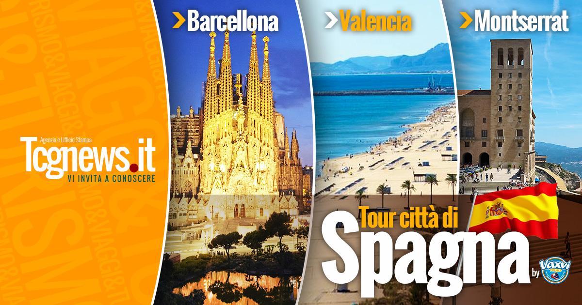 TOUR CITTA' DI SPAGNA: Un viaggio emozionante tra Barcellona, Valencia e Montserrat