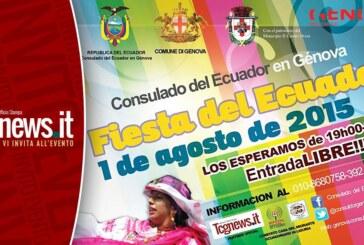 EL CONSULADO DEL ECUADOR CONMEMORARÁ EN GENOVA EL PRIMER GRITO DE INDEPENDENCIA DEL ECUADOR