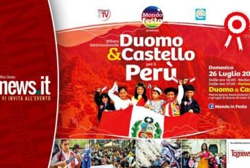 """Sfilata internazionale """"MONDO IN FESTA 2015: dal Duomo al Castello per il Perù"""""""