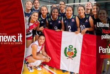 Ultimo incontro della nazionale del Perù under 18 a Milano