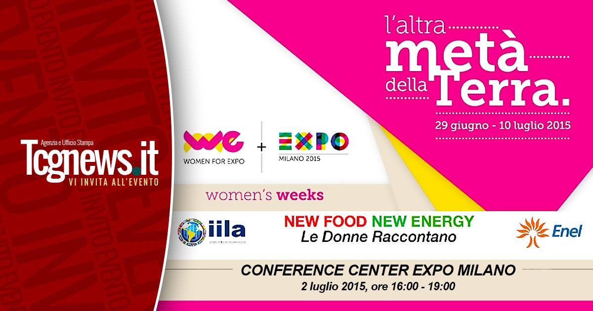 NEW FOOD NEW ENERGY: LE DONNE RACCONTANO