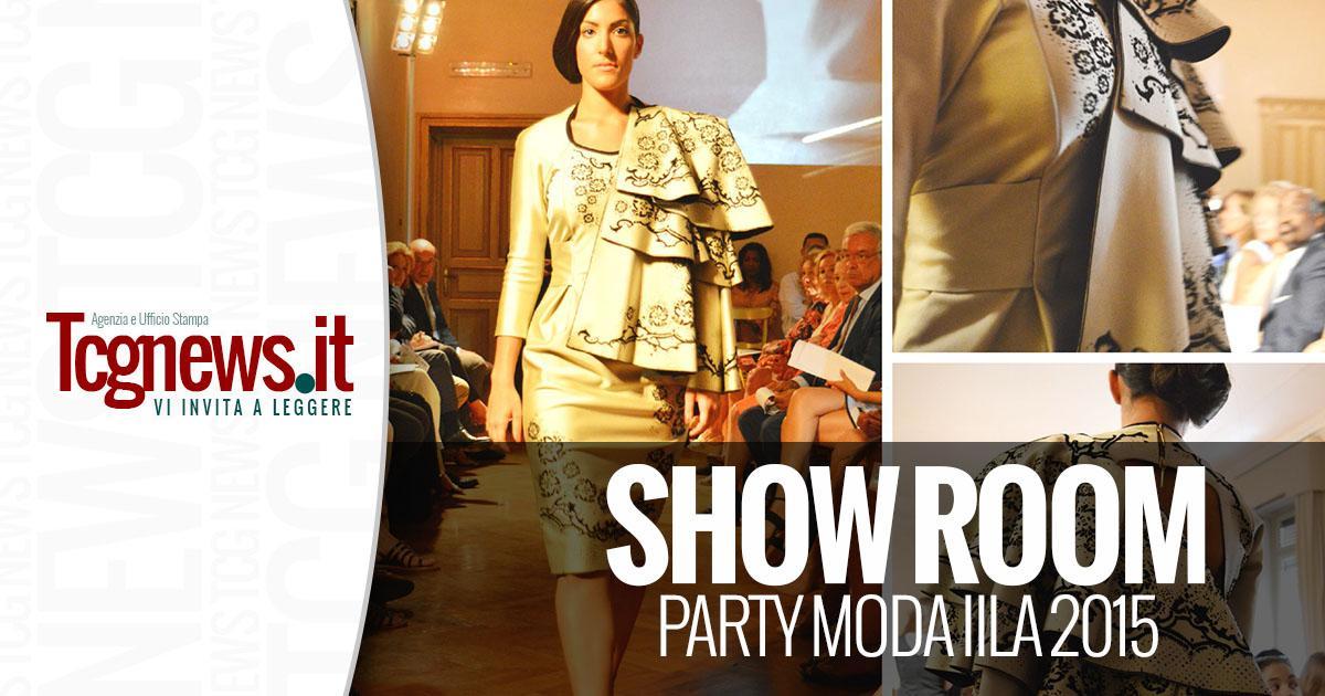 SHOW ROOM PARTY MODA IILA 2015