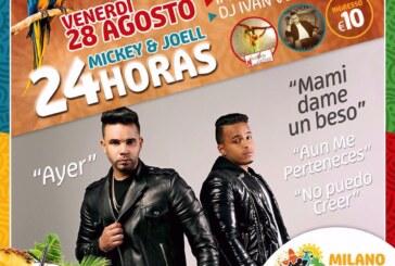 ll Grupo 24 Horas in concerto al Milano Latin Festival