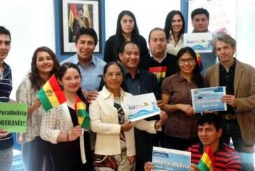 Bolivianos en Italia celebran el fallo de La Haya