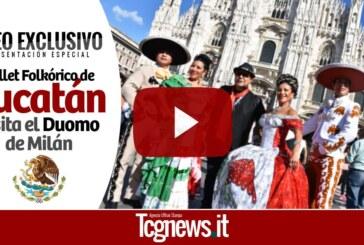 Ballet Folkórico de Yucatán visita el Duomo de Milán