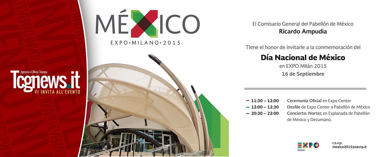 México celebra su independencia en la Expo Milán 2015