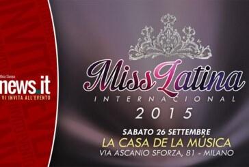 Miss Latina International, a Milano si premia la bellezza Latinoamericana