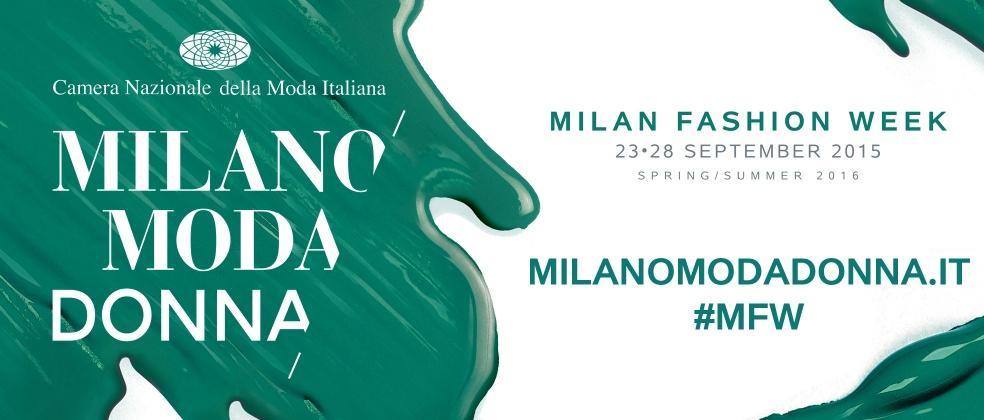 Milano Fashion Week al via l'edizione di settembre 2015
