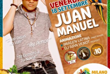 Juan Manuel in concerto al Milano Latin Festival