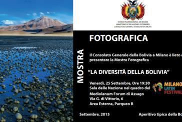 """Milano Latin Festival: Mostra Fotografica """"La diversità della Bolivia"""""""