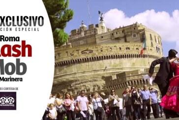 Roma, Flash Mob de Marinera 2015 (Video)