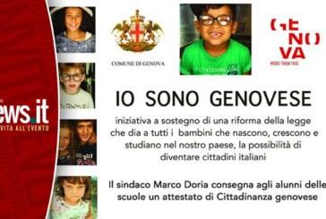 """Il Comune Genova presenta """"IO SONO GENOVESE"""""""