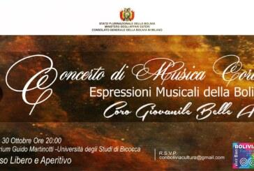 """El Coro Juvenil """"Bellas Artes"""" de Bolivia llega a Milán"""