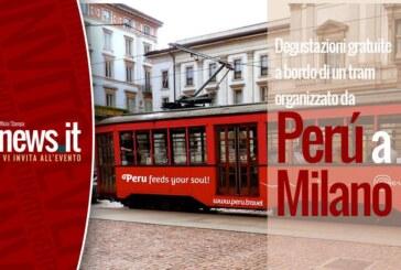 Perú a Milano vi invita a degustazioni gratuite a bordo di un tram