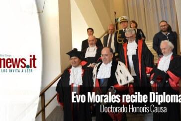 Evo Morales recibe Diploma en Doctorado Honoris Causa