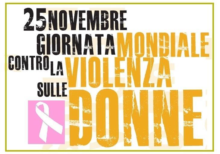 25 novembre, Giornata internazionale contro la violenza sulle donne