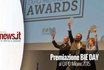 Premiazione BIE DAY al EXPO MILANO 2015