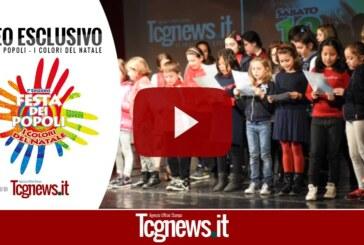 """VIDEO: Festa dei Popoli """"I Colori del Natale 2015"""""""