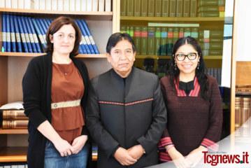 EXCLUSIVA: Visita del Ministro de Relaciones Exteriores de Bolivia Emb. David Chooquehuanca en Bergamo