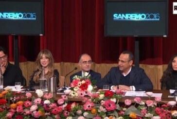 Conferenza Stampa Festival di Sanremo 2016
