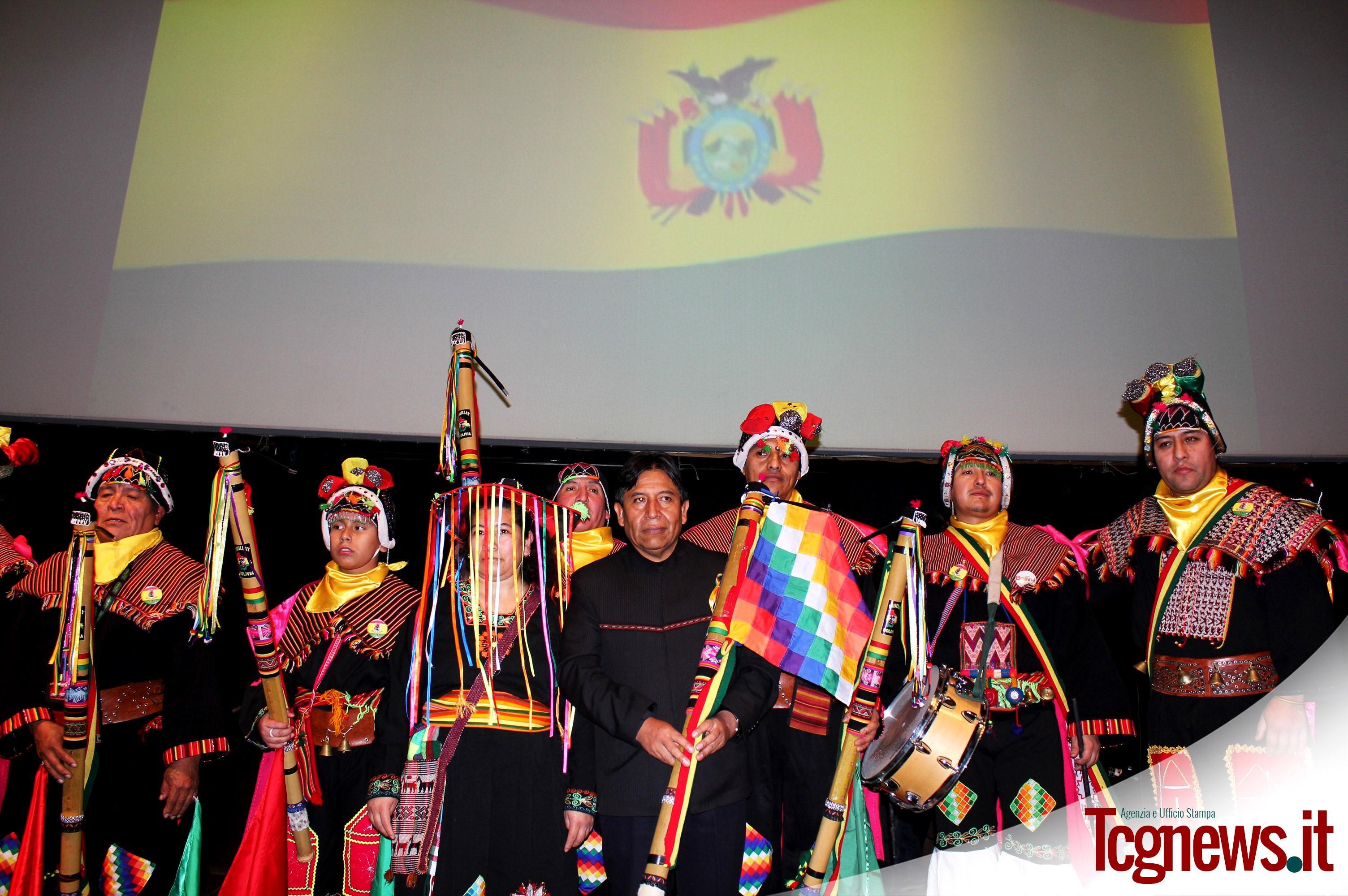 """Canciller de Bolivia brindó conferencia """"Vivir Bien. Una filosofía de vida"""" en la Ciudad  de Bergamo – Italia"""