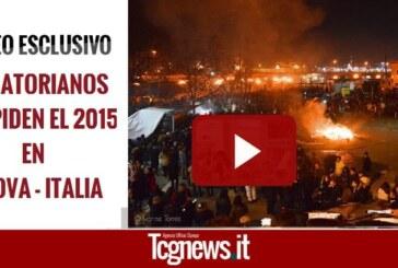 MILES DE ECUATORIANOS DESPIDEN EL 2015 EN GENOVA – ITALIA