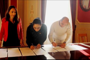 Convenio entre el Municipio de Voghera y el Consulado del Ecuador en Milán