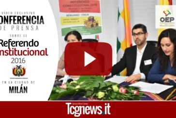 Bolivianos residentes en Italia, podrán votar el Referendo constitucional de el próximo 21 de febrero 2016