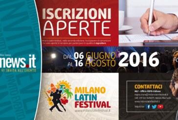 Milano Latin Festival: Sono ufficialmente aperte le iscrizioni per gli espositori