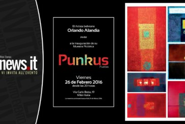 Punkus, muestra pictórica de Orlando Alandia