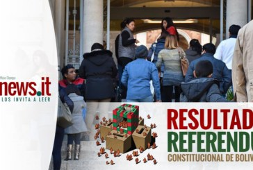 Referendo Bolivia 2016: En Italia gana un contundente NO, ausencia bordea el 50%