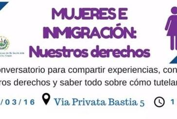 """Mujeres e Inmigración: """"nuestros derechos"""""""