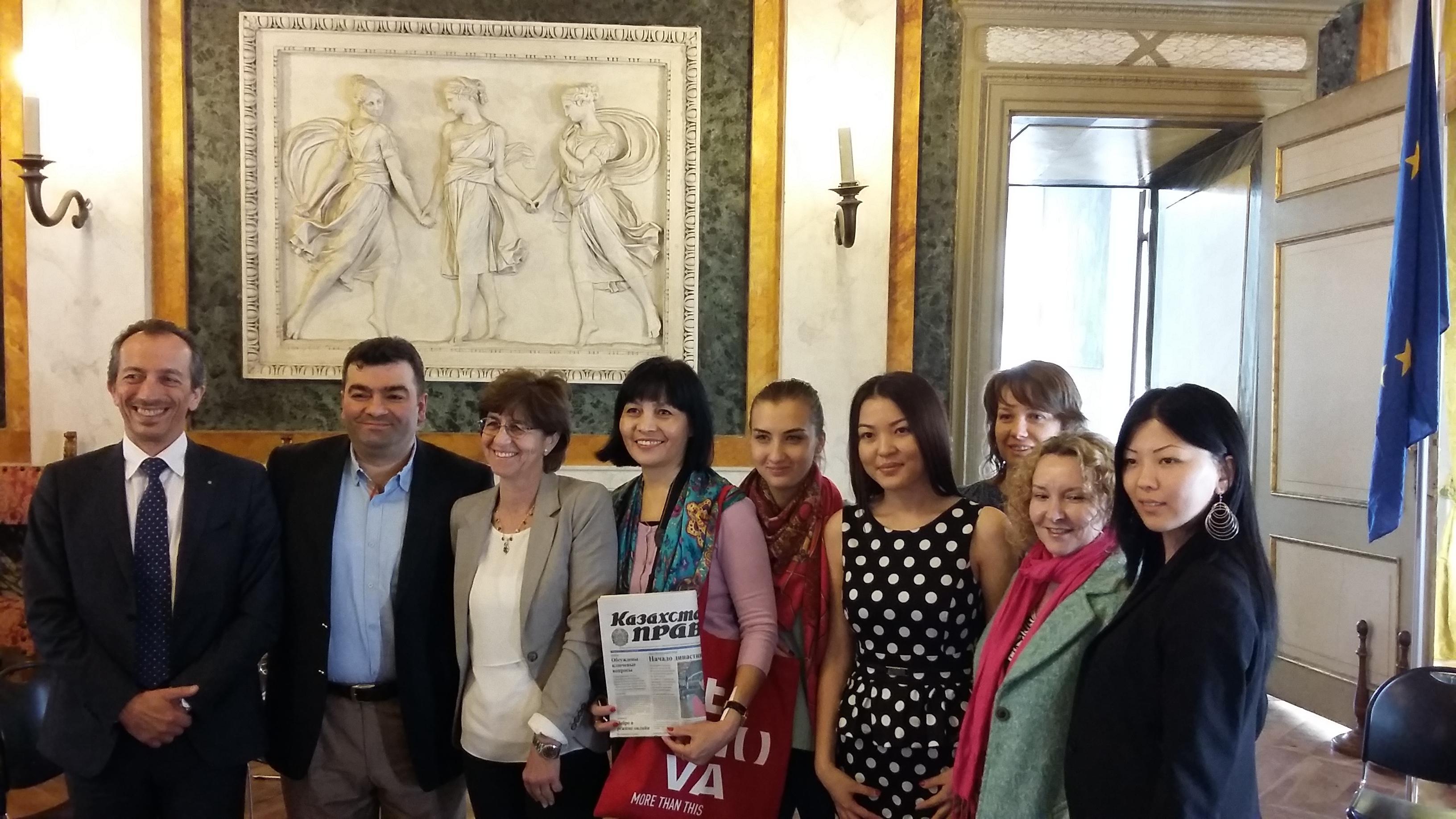 L'educational organizzato per cinque giornalisti kazaki finisce domani