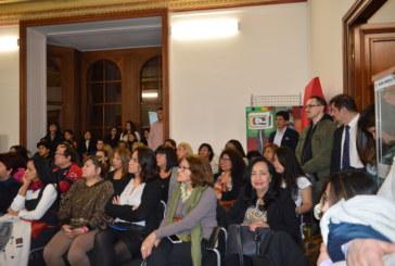 Día Internacional de la Mujer: Se festejó en la ciudad de Génova