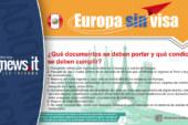 EUROPA SIN VISA: ¿Qué documentos deben portar y qué condiciones deben cumplir los ciudadanos peruanos?