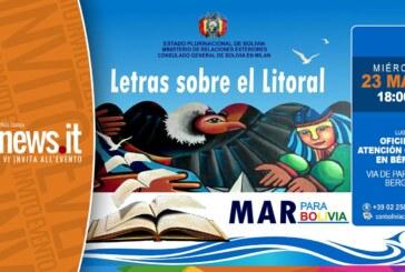 LETRAS SOBRE EL LITORAL, Tavola Rotonda in occasione della Giornata del Mare Boliviano